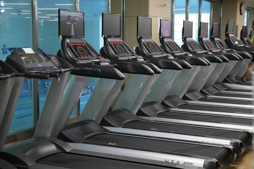 kondition och konditionsträning löpband
